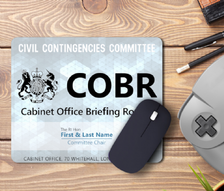 COBR Cobra Personalised Committee Chair Mouse Mat Pad